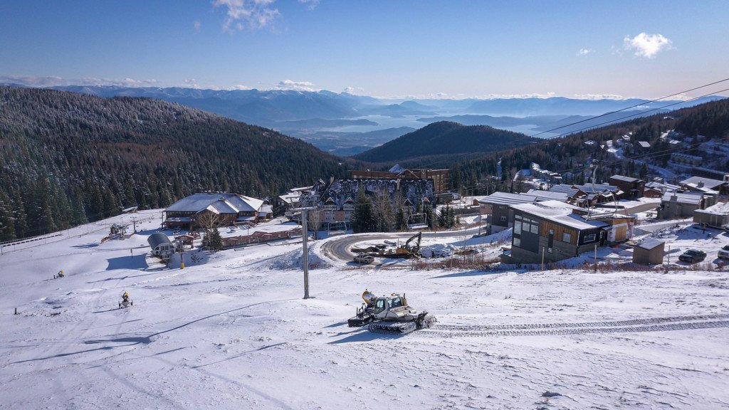 Schweitzer gets four inches of snow as ski season draws closer