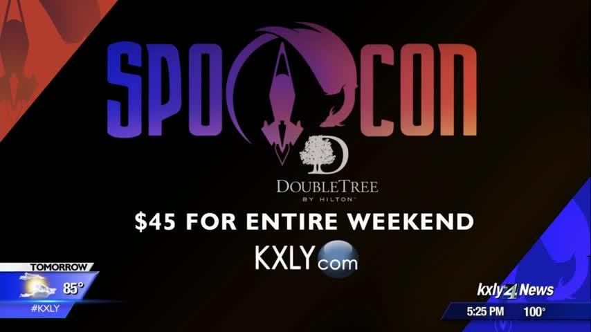 "Sci-fi and fantasy convention ""Spocon"" returns to the Downtown Doubletree Hilton this weekend"