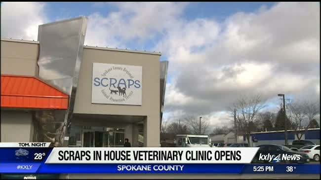 SCRAPS opens new in-house veterinary clinic