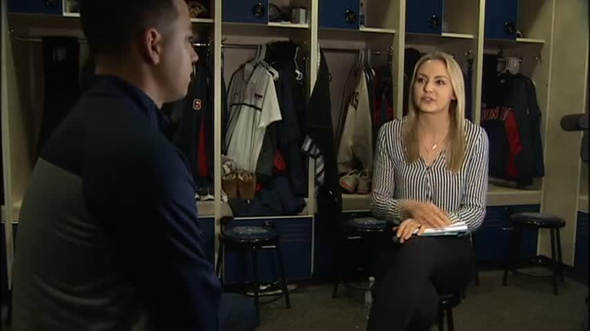 Mariners pitcher Marco Gonzales on trades, first complete season FULL sit-down interview