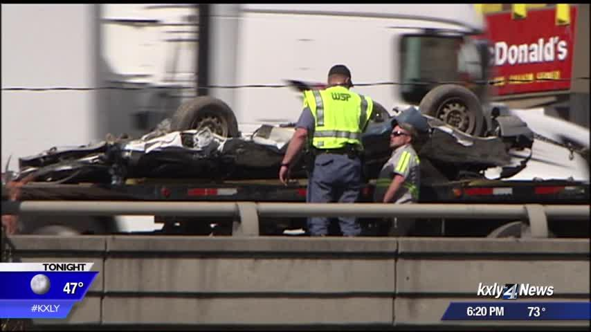 Spokane Valley family recovers after I-90 crash near downtown