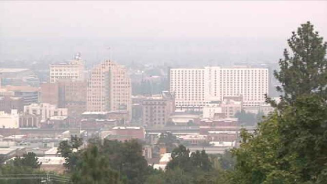 Sensitive groups to watch out for in smoky conditions