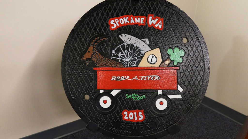 City of Spokane looking for young artists to design new sewer covers
