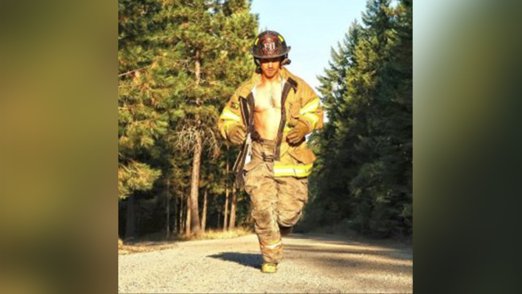 "Sandpoint firefighter is a finalist for ""sexiest vegan"" in the nation"