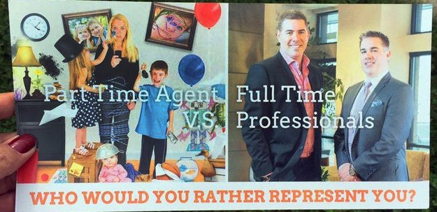 Sound Off for September 18th: Funny or insulting? Real estate ad about working moms.