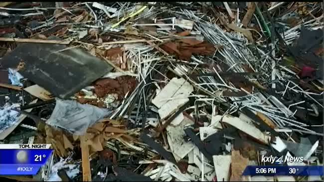 SFD drone video shows major damage after Tormino's fire