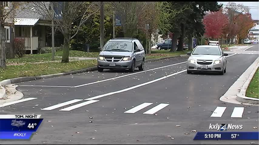 Sharp Ave officially re-opened with upgrades after four months of construction