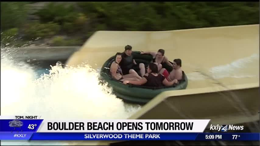 Silverwood's Boulder Beach opens Saturday!