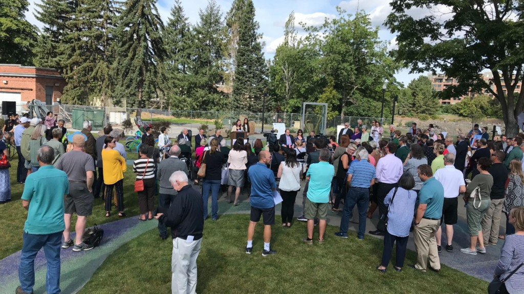 Sister Cities 'Connections' Garden now open in Riverfront Park