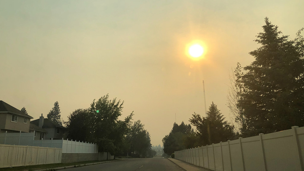 Smoke clears out of Spokane, moves into Sandpoint