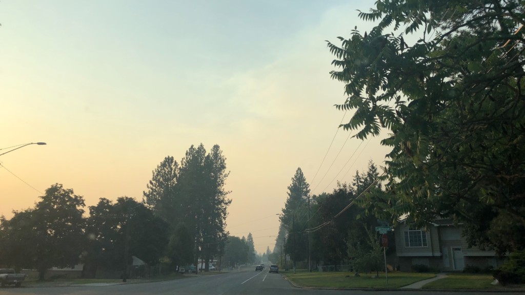 Spokane wakes up to worst air quality in the country