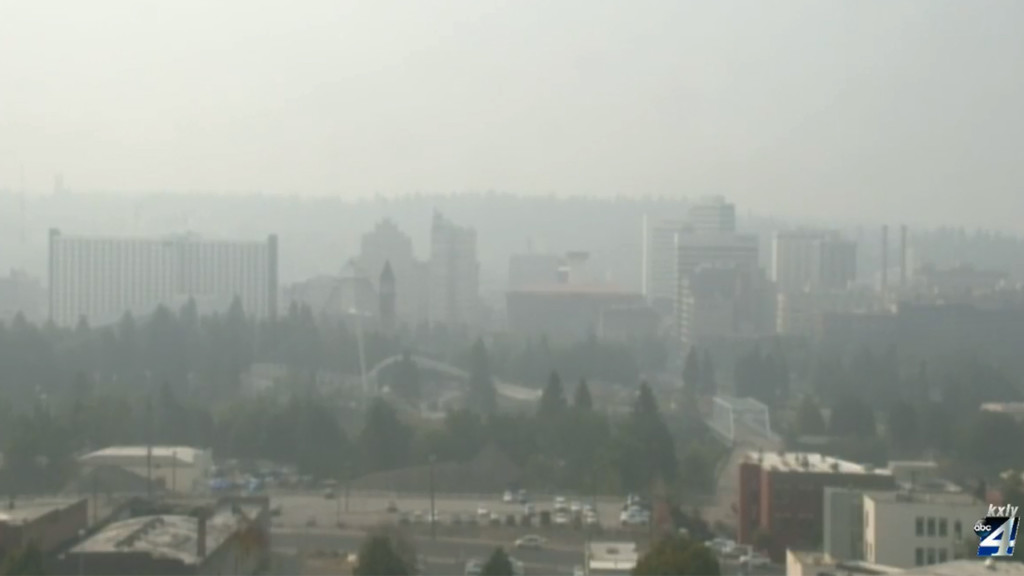 Unhealthy air quality expected to continue