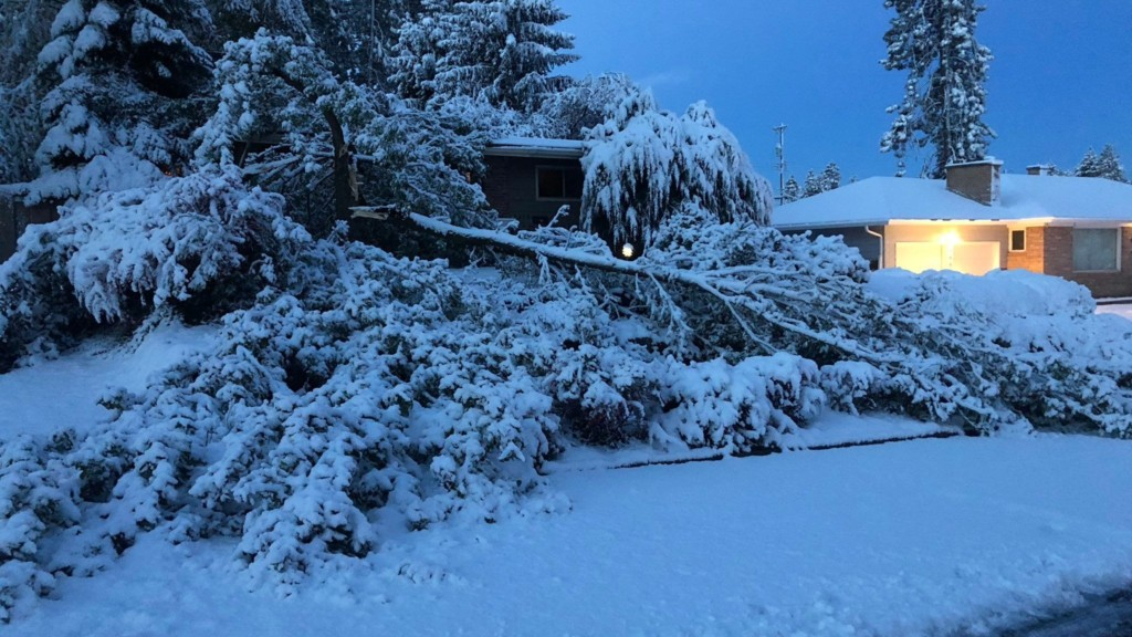 This was the coldest October ever in Spokane