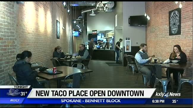 So-Cal inspired taco place opens on the Bennett block
