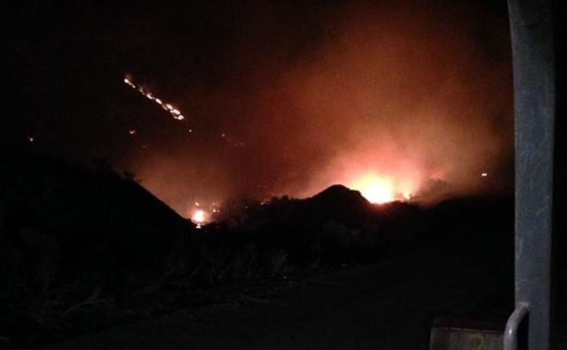 Soap Lake fire forces evacuations