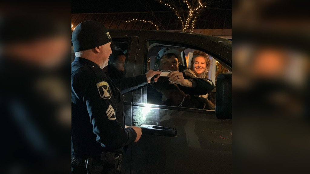 N. Idaho DUI task force arrests drunk drivers, rewards sober ones