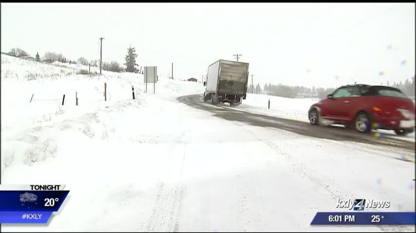 Some drivers weathering the storm, as snows dumps onto highways