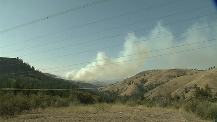 Sorrow in Davenport as the Angel Spring Fire rages