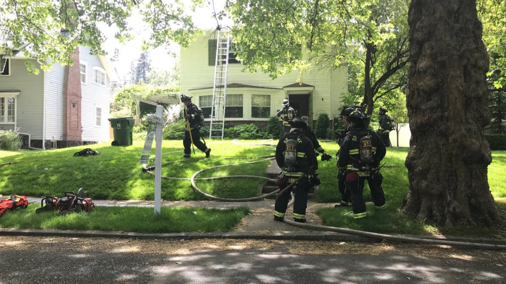 Firefighters respond to house fire on South Hill