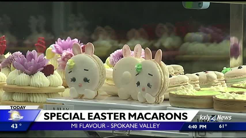 Spokane bakery offering bunny macarons in time for Easter