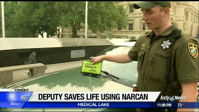 Spokane County deputy saves man's life using training received just 24 hours prior