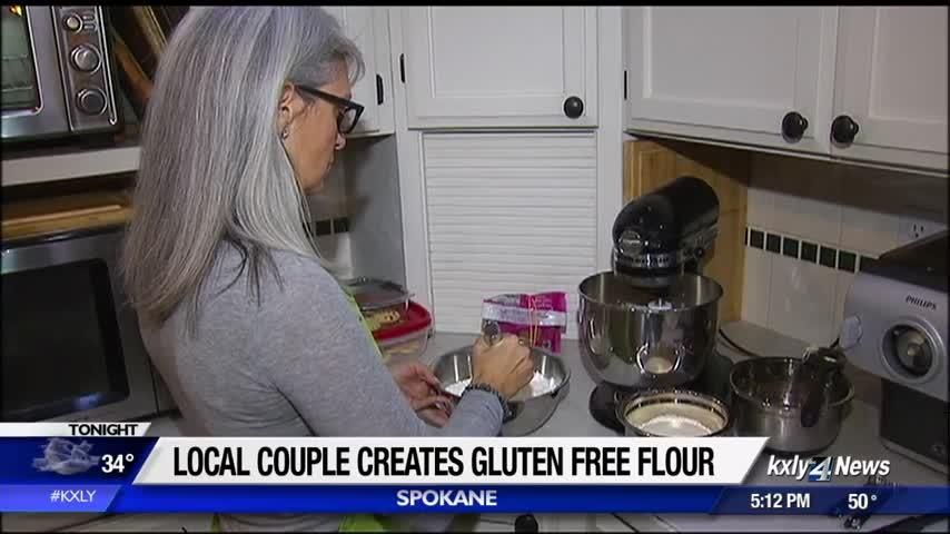Spokane couple wants to make gluten free food taste better with new flour