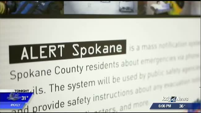 Spokane County confident in their emergency alert system