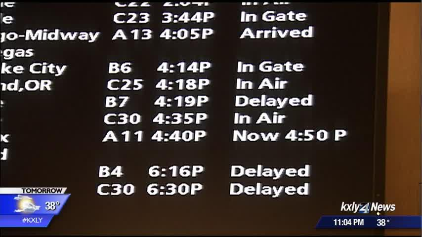 Spokane experiences travel delays from SeaTac, expects high volume of travelers for holiday