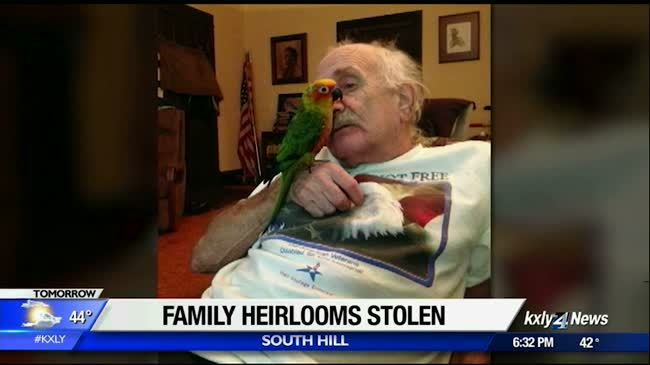 Spokane family searches for stolen heirlooms and antiques