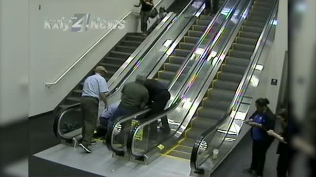 "Good Samaritan in Escalator Accident: ""I wish I could have been a few steps faster"""