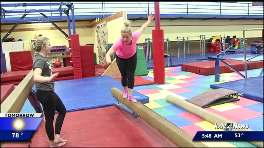 Top gymnasts from around the western U.S. competing in Spokane this weekend