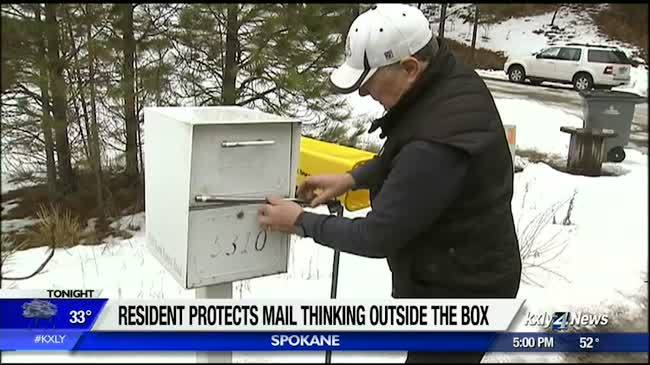 Spokane man is thinking outside the box when it comes to protecting his mail