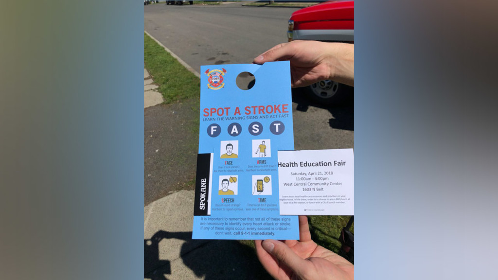 SFD goes door-to-door in West Central to talk health education