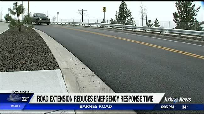 Spokane road extension improves neighborhood safety