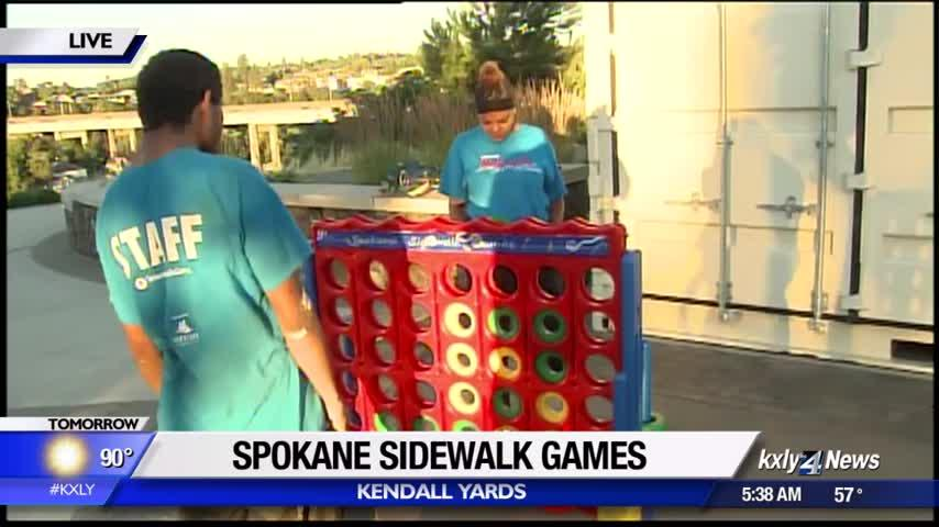 Spokane Sidewalk Games returns for third year