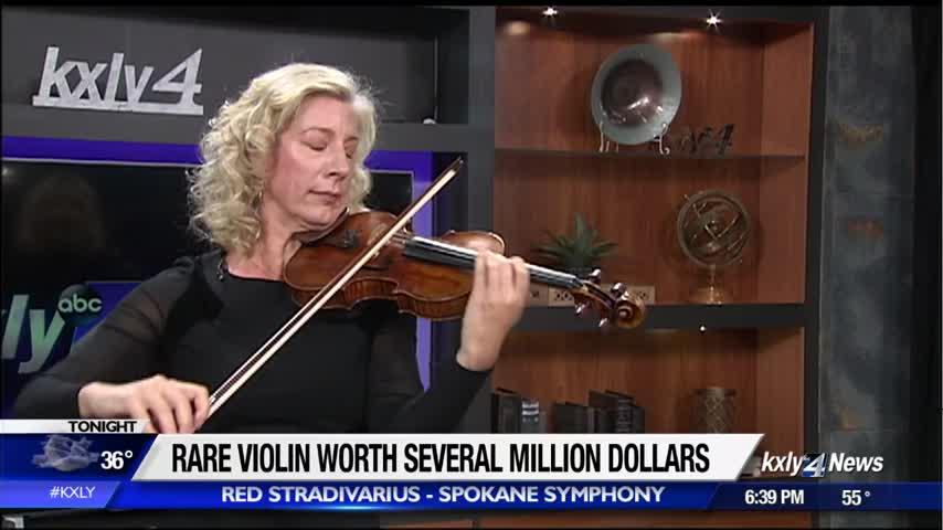 """Spokane Symphony to host the """"Red Stradivarius"""" a violin unlike any other"""