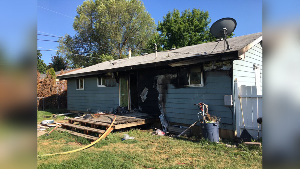No one injured in Spokane Valley house fire