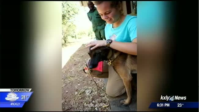 Spokane Valley native trains dogs to sniff out poachers in Africa