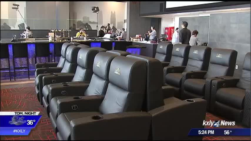Spokane's first dinner-and-a-movie theater opens its doors
