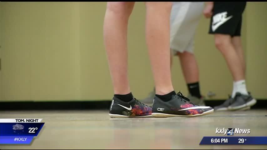 Spokane teams forced to take spring sports inside, because of harsh winter weather