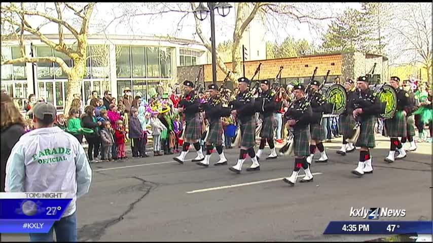 Thousands enjoy warm weather for 41st annual St. Paddy's Day Parade in Spokane