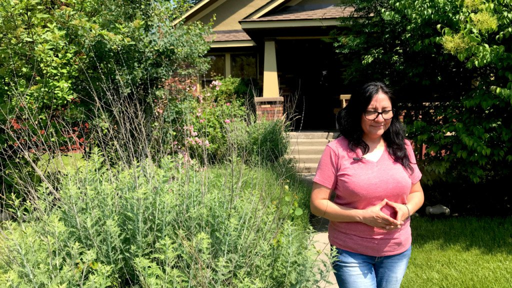 Spokane homeowner losing part of her yard to a new bus stop