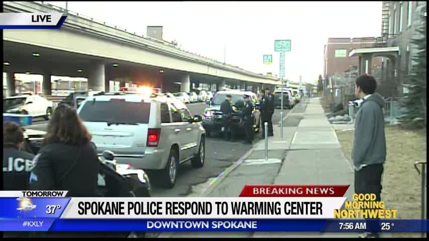 Staff member stabbed at downtown Spokane warming center