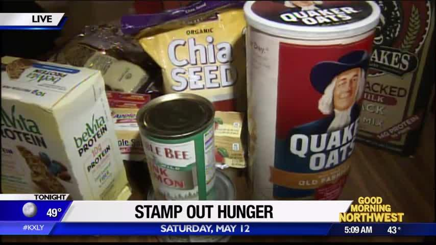 Stamp Out Hunger food drive hits home for one local letter carrier