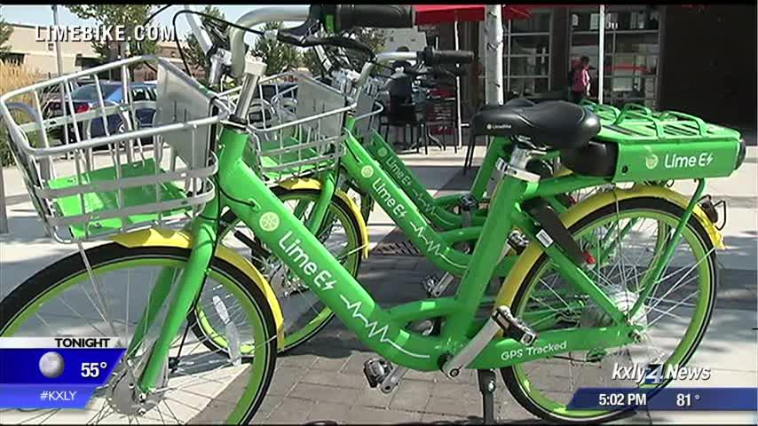 Spokane city council to consider getting rid of helmet rule for Lime bikes & scooters