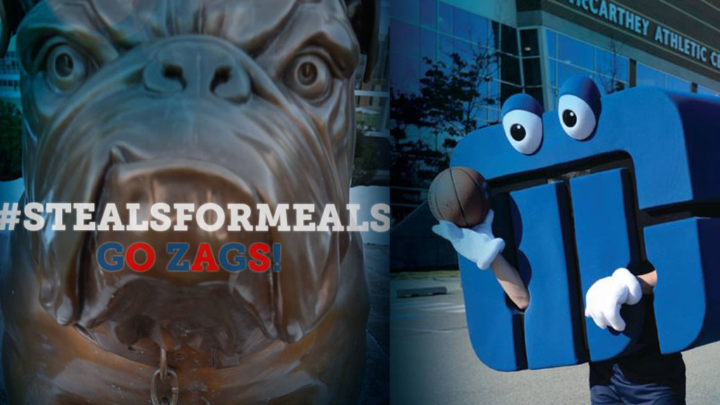 Washington Trust to donate meals for every Zag game in tournament