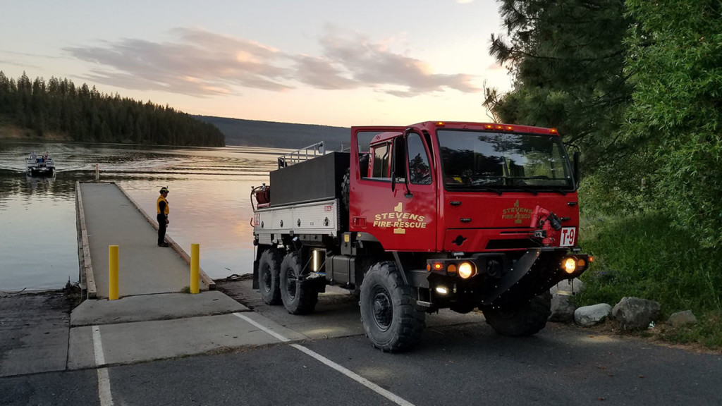 Stevens County Fire District 1 gets new truck