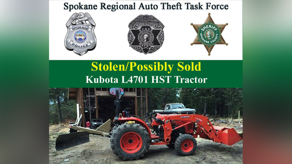UPDATE: Detectives arrest man for stealing tractor