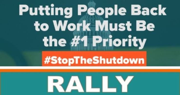 Spokane Labor Council holding Stop the Shutdown rally Friday