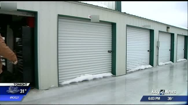 Storage unit tenants frustrated with flooding